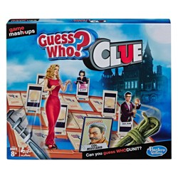 Game Mashups Guess Who? Clue Game (Target Exclusive)