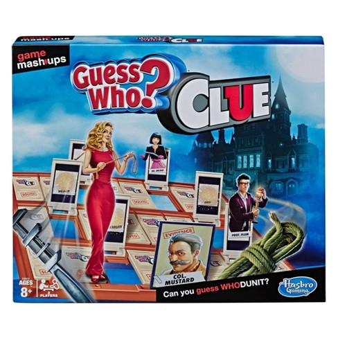 Game Mashups Guess Who? Clue Game (Target Exclusive) - image 1 of 3