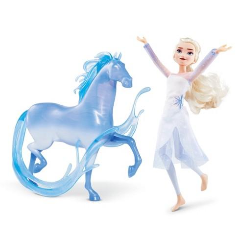 Disney Frozen 2 Elsa Fashion Doll And Nokk Figure Target
