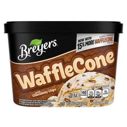 Breyers Blasts Waffle Cone Frozen Dairy Dessert - 48oz - image 1 of 2