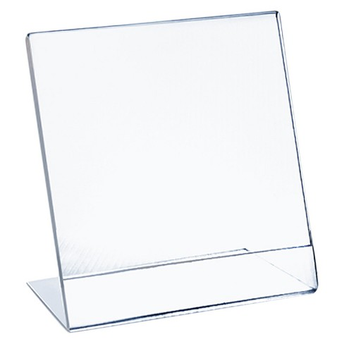 "Azar® 11"" x 14"" L-Shaped Acrylic Sign Holder 10ct - image 1 of 1"