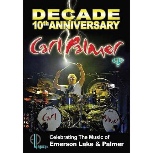 Carl Palmer: Decade 10th Anniversary Celebrating Emerson Lake & Palmer (DVD) - image 1 of 1