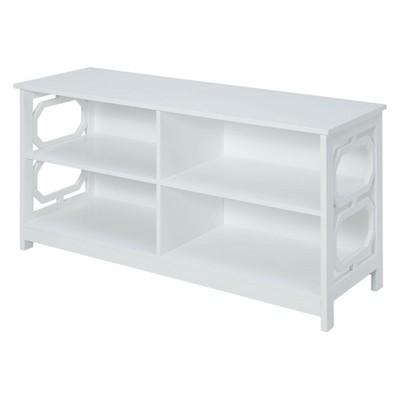 Omega TV Stand White - Breighton Home