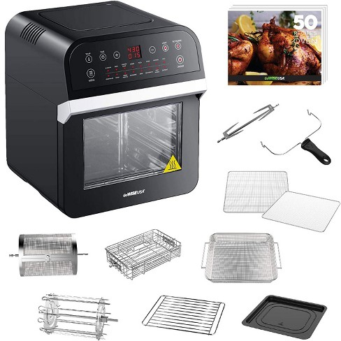 Gowise 12 7 Quart Electric 15 In 1 Programmable Air Fryer And Oven