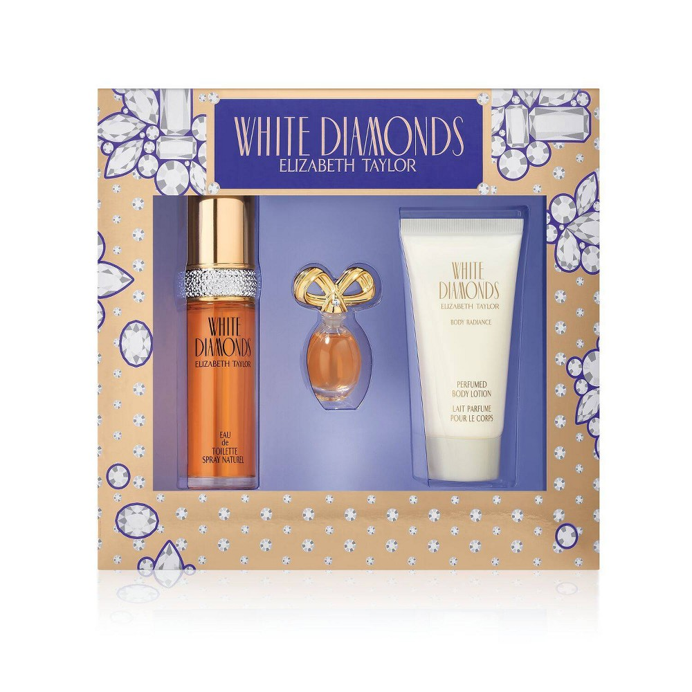 Image of Women's Elizabeth Taylor White Diamonds Perfume Gift Set - 3pc