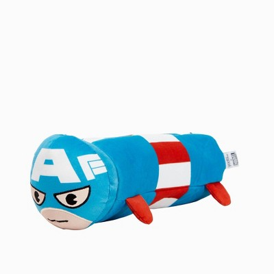 Zipper Pencil Case Barrel Captain America - Yoobi™