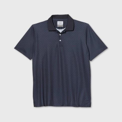 Men's Printed Big & Tall Regular Fit Short Sleeve Collared Crewneck T-Shirt - Goodfellow & Co™ - image 1 of 1