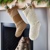 Cream Chunky Knit Stocking - Threshold™ designed with Studio McGee - image 2 of 4