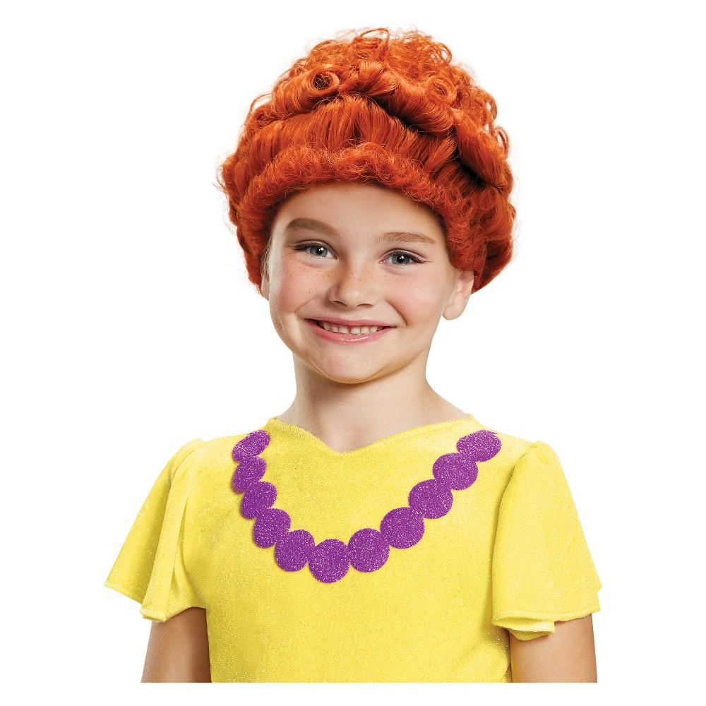 Girls' Fancy Nancy Halloween Costume Wig, Multi-Colored