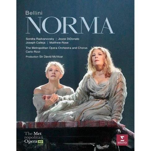 Bellini: Norma Met Live Recording (Blu-ray) - image 1 of 1