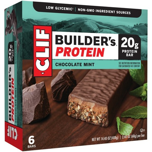 Clif® Builder's Protein Bar - Chocolate Mint - 6ct - image 1 of 2