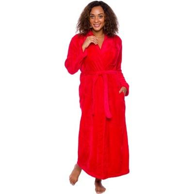 Silver Lilly - Women's Full Length Plush Luxury Bathrobe