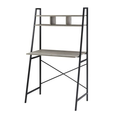 Sophia Metal and Wood Tiered Ladder Desk - Saracina Home