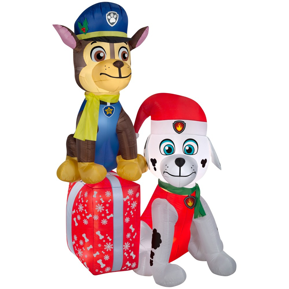 Nickelodeon Holiday Inflatable Decoration Paw Patrol on P...