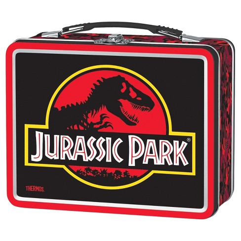 Thermos Metal Jurassic Park Lunch Box - image 1 of 1