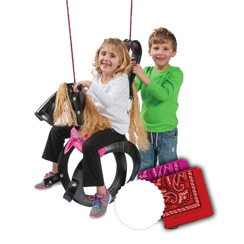 M&M Sales Pony Pal Tire Swing - image 1 of 4