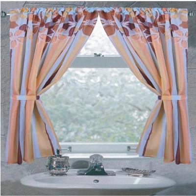 "Carnation Home Fashions ""Mandy"" Fabric Window Curtain - 34 x 54, Multicolored"