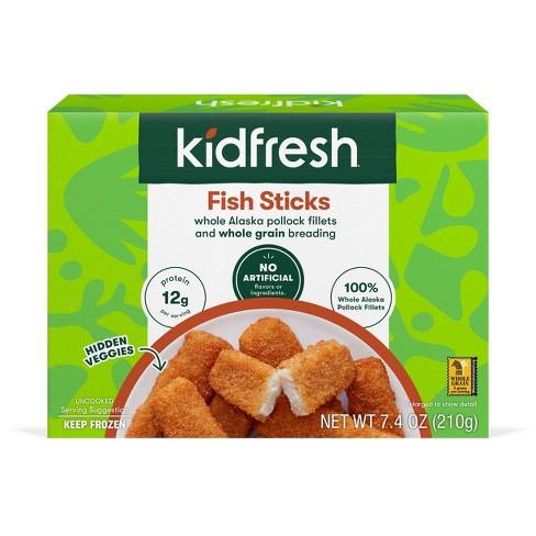 Kidfresh Fun-tastic Frozen Fish Sticks - 7.4oz - image 1 of 3