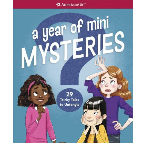 Year of Mini Mysteries : 29 Tricky Tales to Untangle (Paperback) (Kathy Passero) - image 1 of 1