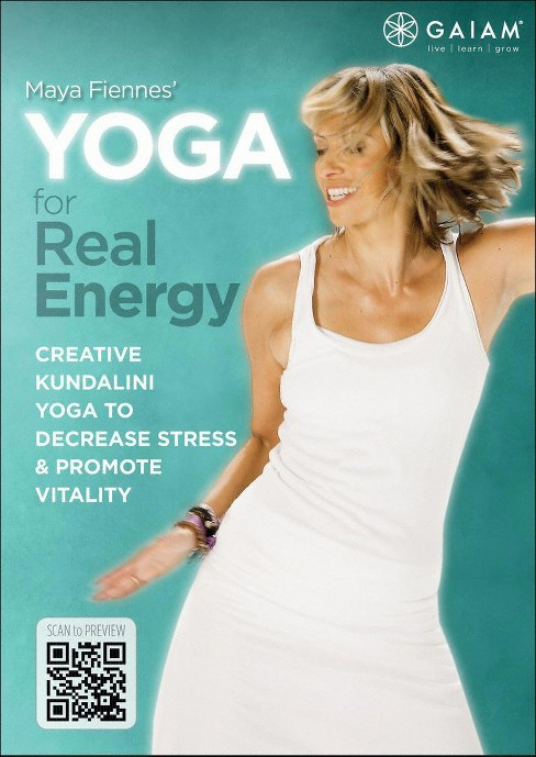 Yoga for real energy (DVD) - image 1 of 1