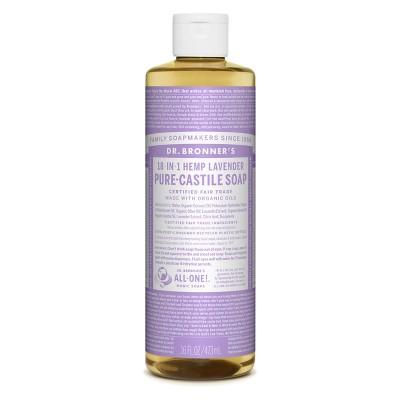 Dr. Bronner's Pure Castile Soap - Lavender - 16oz
