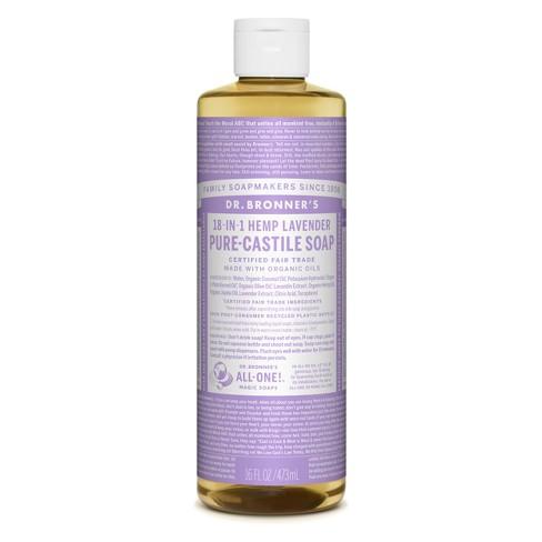 Dr. Bronner's Pure Castile Soap - Lavender - 16 oz - image 1 of 3