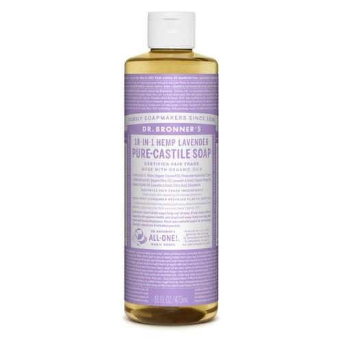 Dr. Bronner's Pure Castile Soap - Lavender - 16 oz
