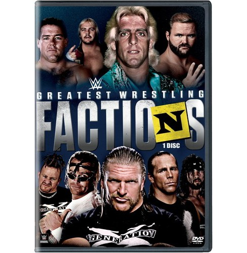 Wwe:Presents Wrestling?s Greatest Fac (DVD) - image 1 of 1