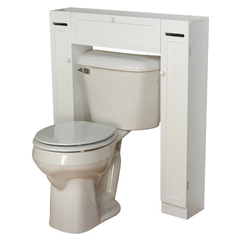 Smart Space Over Toilet Étagère White - TMS - image 1 of 2