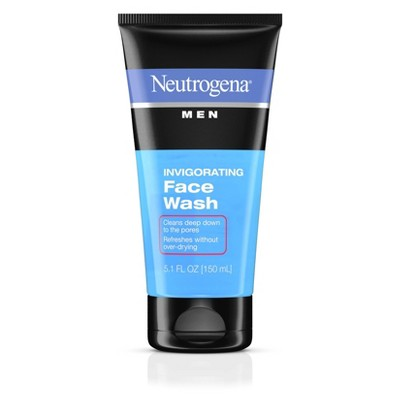 Facial Cleanser: Neutrogena Men Invigorating Face Wash