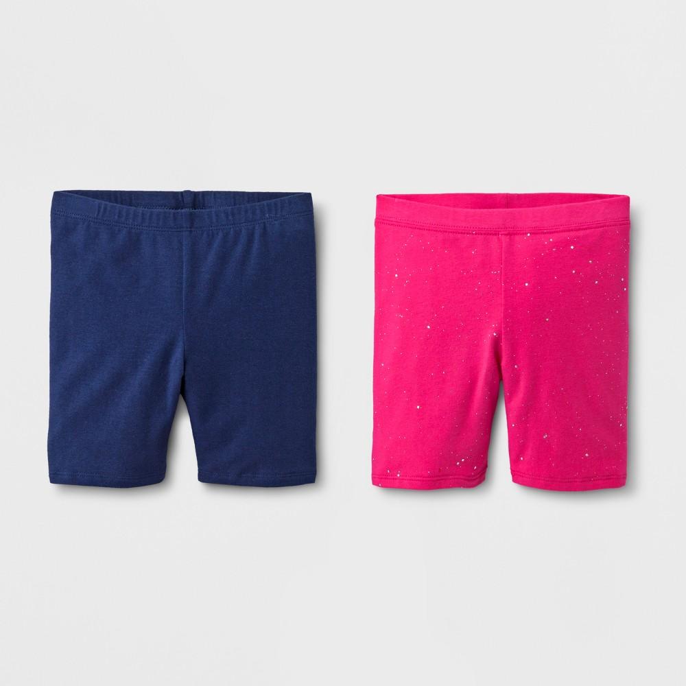Toddler Girls' Trouser Shorts - Cat & Jack Navy 2T, Blue