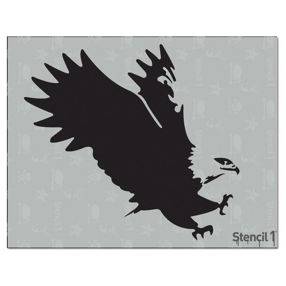 Stencil1 Eagle Stencil 8 5 34 X 11 34
