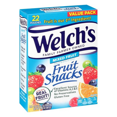 Welch's Mixed Fruit Snacks - 19.8oz/22ct - image 1 of 4