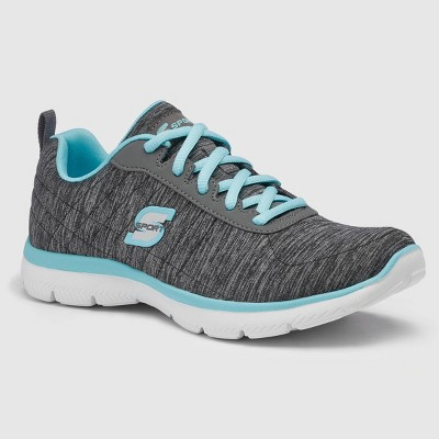Women's S Sport by Skechers Loop 4.0 Lace-Up Athletic Shoes - Gray