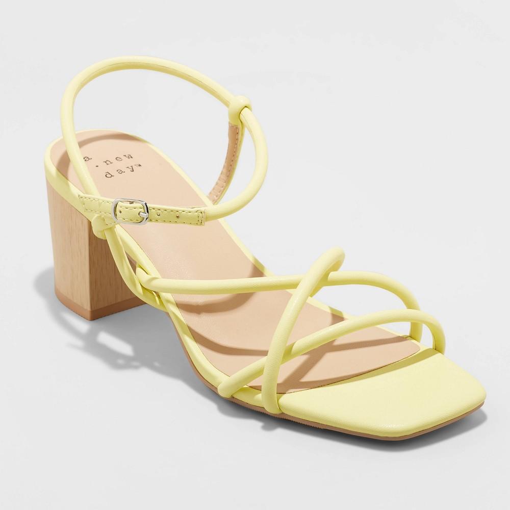 Women 39 S Bella Heels A New Day 8482 Yellow 11