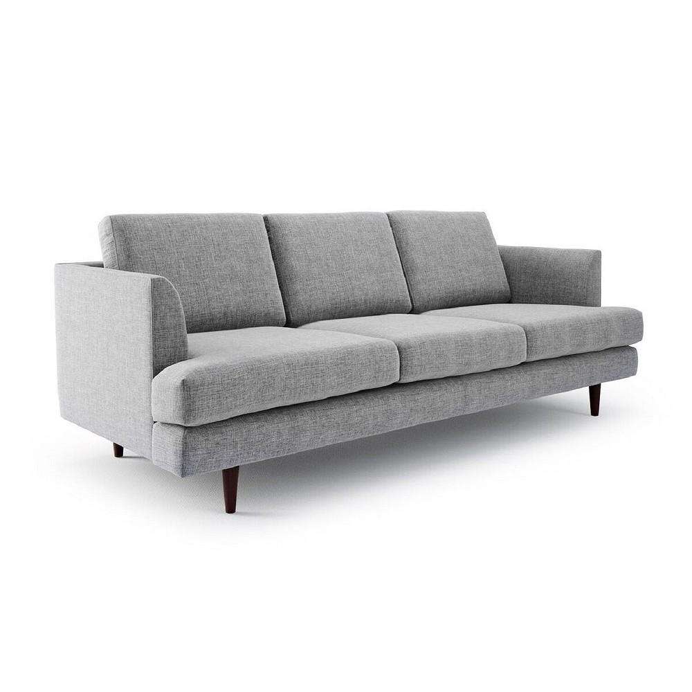 Montclair Modern Vintage Flair Sofa - Gray - Aeon