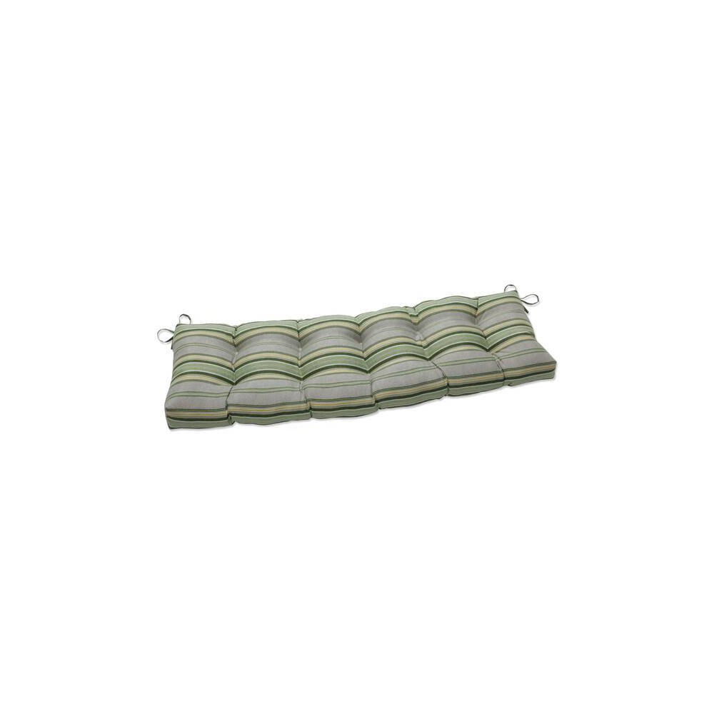 60 34 X 18 34 Outdoor Indoor Tufted Bench Swing Cushion Terrace Sunrise Green Pillow Perfect