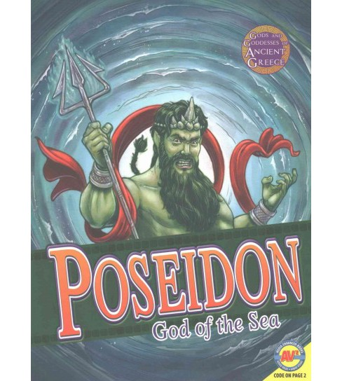 Poseidon : God of the Sea (Reprint) (Paperback) (Teri Temple & Maria Koran) - image 1 of 1