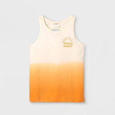 Girls' Dip-Dye Tank Top - Cat & Jack™ Yellow