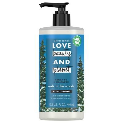 Love Beauty and Planet Cedar Wood and Marula Oil Body Lotion - 13.5 fl oz