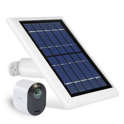 Wasserstein Solar Panel Compatible with Arlo Ultra/Ultra 2, Arlo Pro 3/Pro 4 and Arlo Floodlight ONLY with 13.1ft Cable (1 Pack)