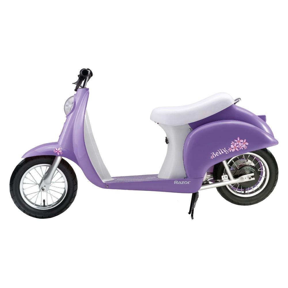 Razor Pocket Mod Betty Electric Scooter - Lavender, Lavendar