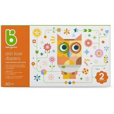 Babyganics Diapers Club Pack - Size 2 (90ct)