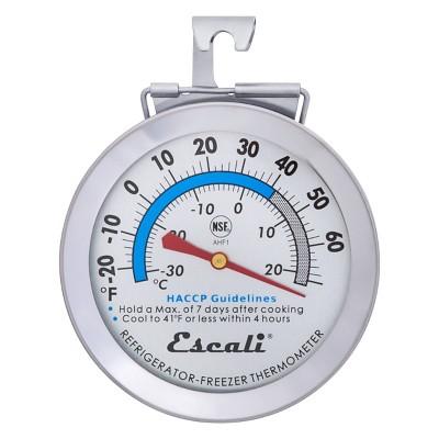 Escali Refrigerator & Freezer Thermometer