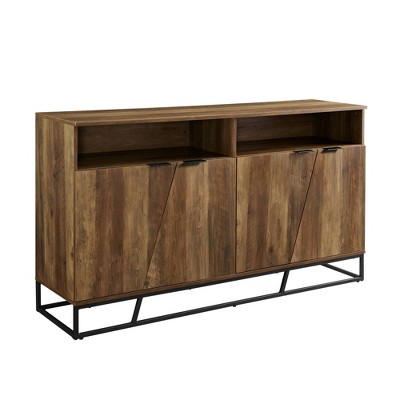 """58"""" Contemporary Storage Console Sideboard - Saracina Home : Target"""