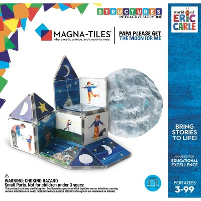 Magna-Tiles Eric Carle Papa Please Get the Moon
