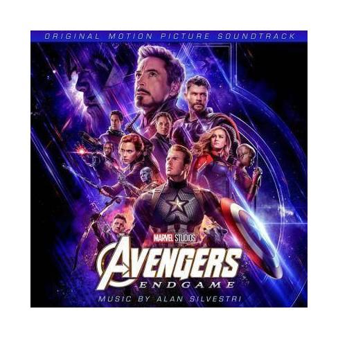 Alan Silvestri Avengers Endgame Osc Cd