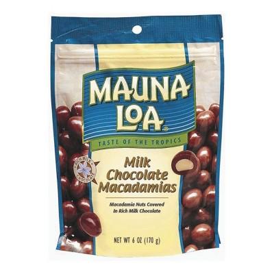 Mauna Loa Milk Chocolate Macadamia Nuts - 6oz