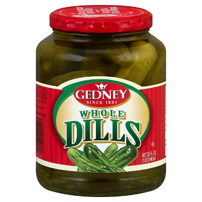 Gedney Whole Dill Pickles - 32oz