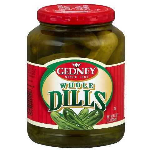 Gedney Whole Dill Pickles 32oz Target